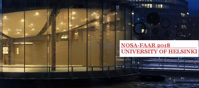NOSA Symposium 2018